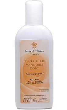 Aceite De Almendras Dulces - Es Eudérmico Con Acción Emoliente, Suavizante Y Calmante. - Producto Profesional (Centros De Belleza Y Farmacias) - 200 ...