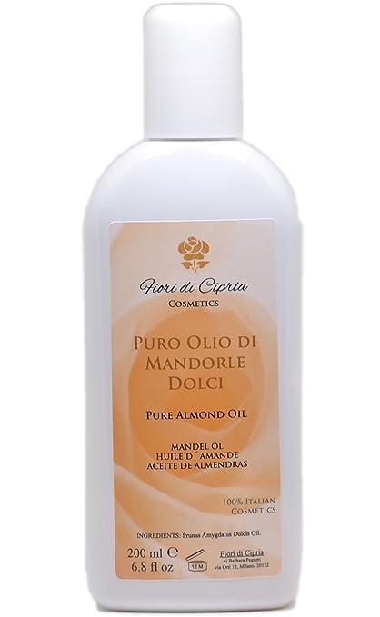 Aceite De Almendras Dulces - Es Eudérmico Con Acción Emoliente, Suavizante Y Calmante. -