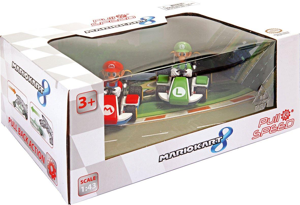 Pull & Speed 15813011, Nintendo Mario Kart 8, 2 Vehículos (Mario y ...