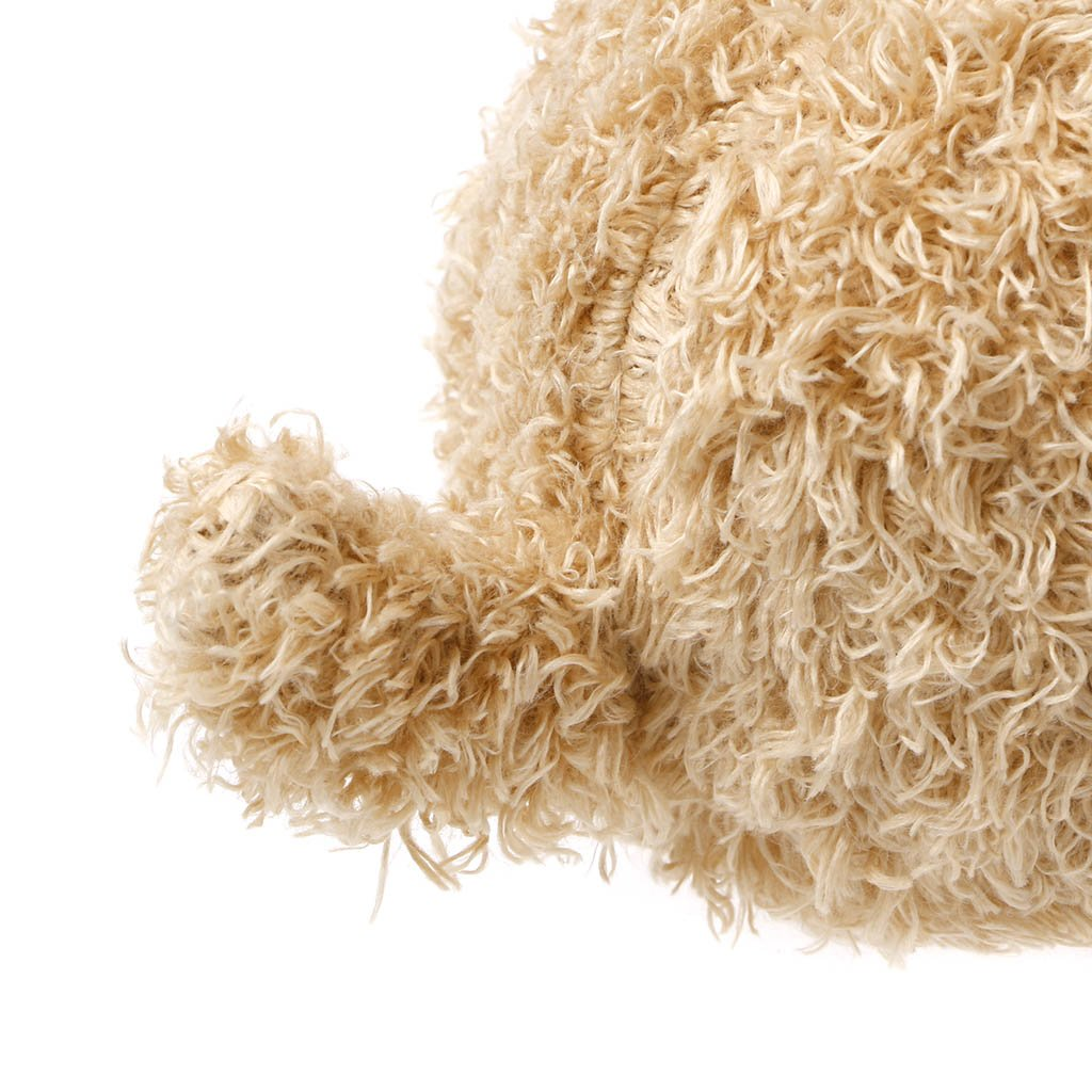 Beige Stuffed Animals Dogs Plush Toy Ronri Poodle Plush Puppies