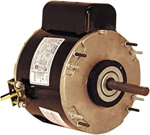 A.O. Smith US1016NB 1/6 HP, PSC, TEAO Enclosure, 2.8 Amps, 1/2-Inch x 2-3/8-Inch, Reversible Rotation, Sleeve Bearing Unit Heater Motor