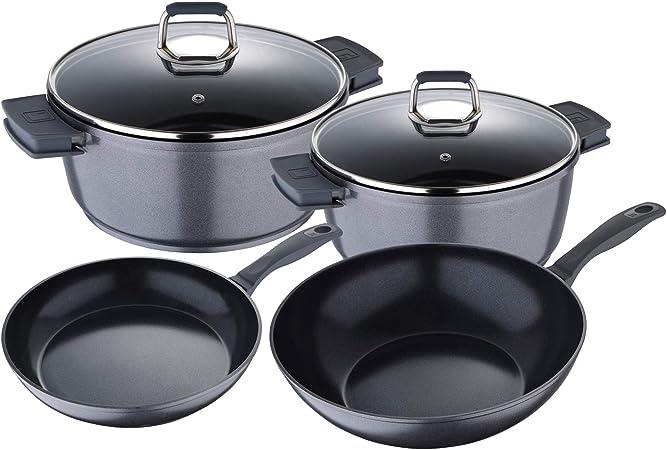 Bergner Titan Conjunto de 5 Piezas Batería de Cocina