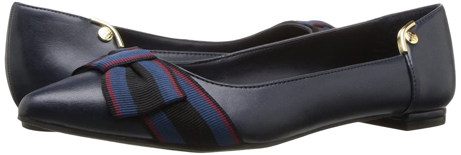 1ebbaca96 Tommy Hilfiger Womens Taziana 2 Pointed Toe Slide Flats