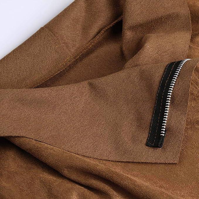 Linlink Mujeres Invierno Retro Remache Cremallera hasta Chaqueta de Bombardero Casual Abrigo Ropa Outwear: Amazon.es: Ropa y accesorios