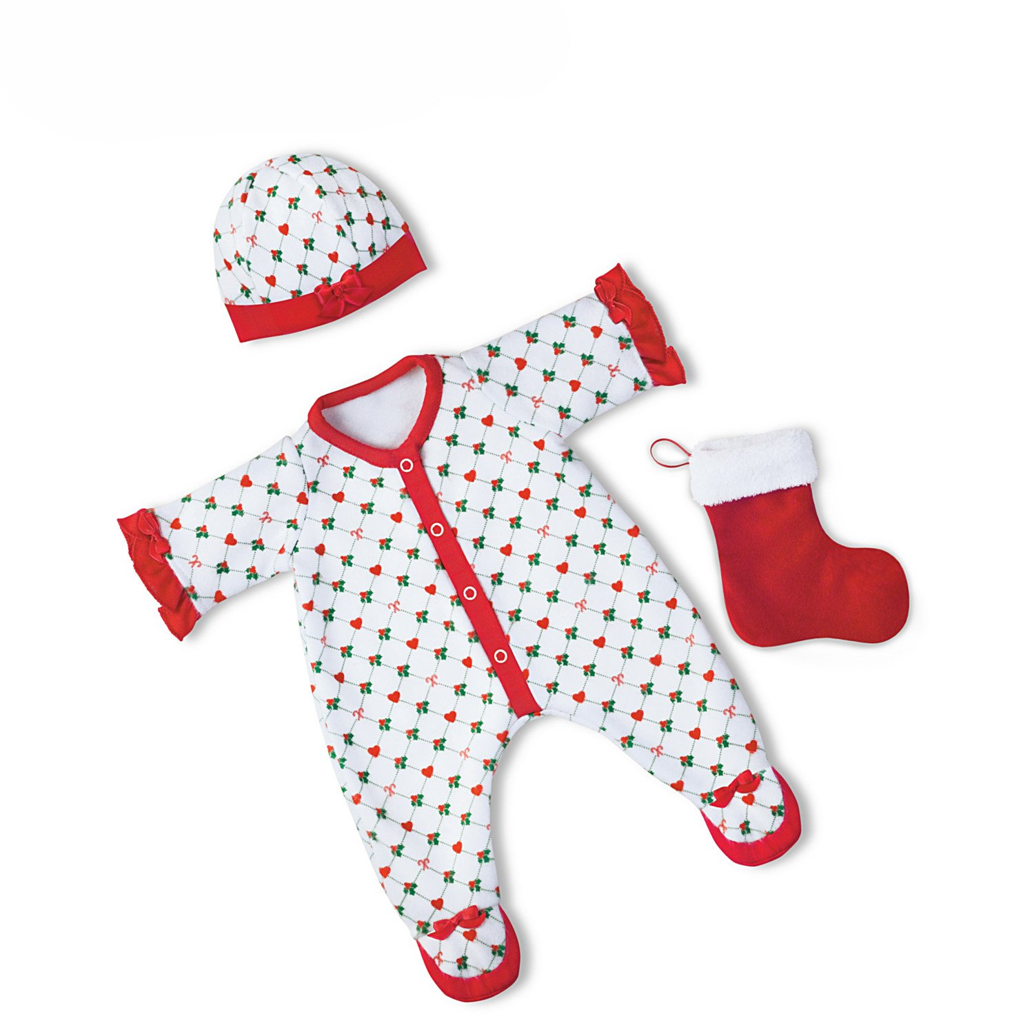 The Ashton-Drake Galleries Holiday Pajamas Baby Doll Accessories for So Truly Mine Baby Doll by by The Ashton-Drake Galleries