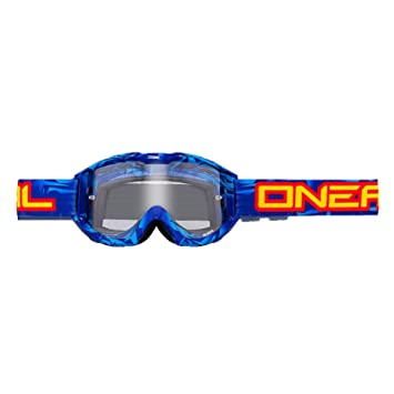 ONEAL B1 RL Icebreaker Cross Brille klar blau-schwarz bzl5oFTbX