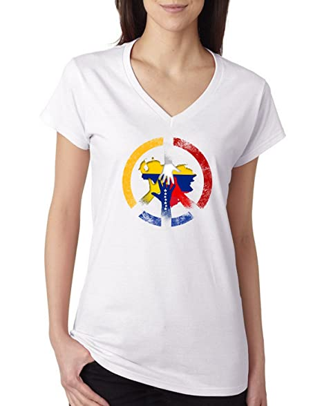 e1b3e60681aa Amazon.com  nobrand Venezuela T-Shirt Soccer Jersey Patriotic Flag Shield  Pride World Cup  Clothing