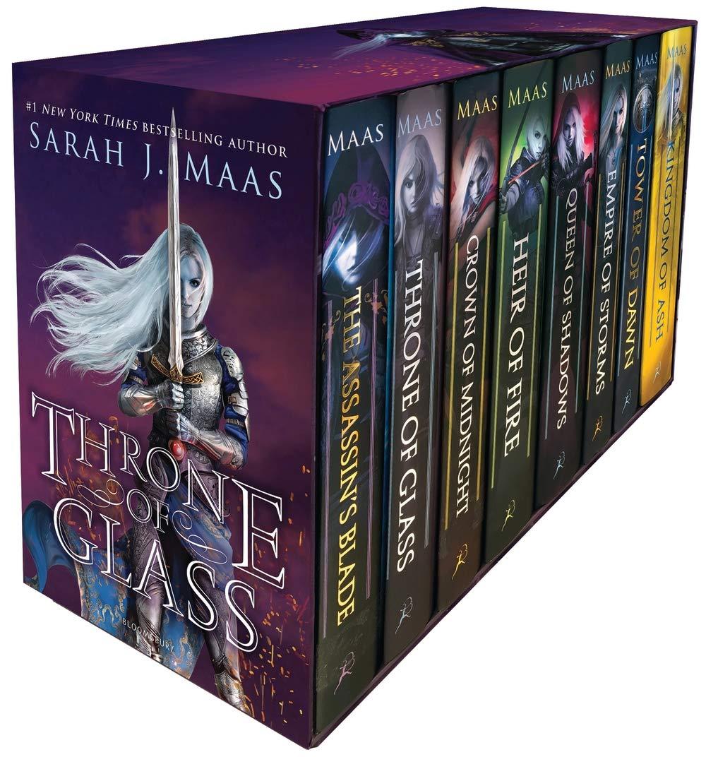 Throne of Glass Box Set by Bloomsbury YA