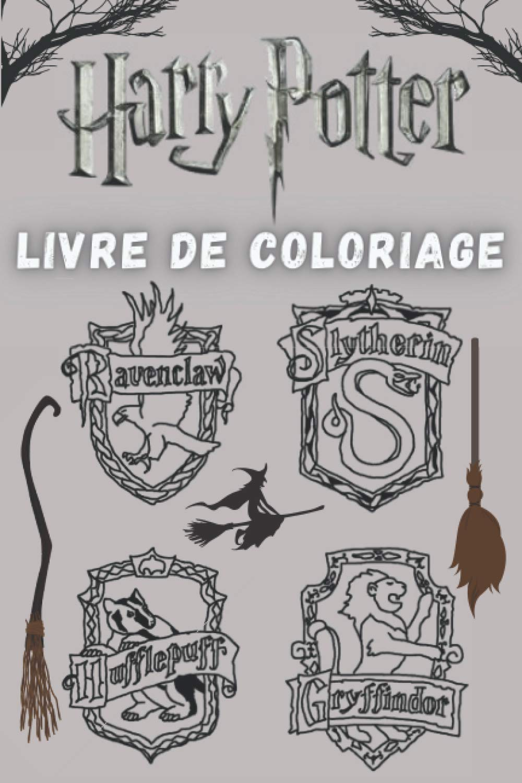 Harry Potter Livre De Coloriage Un Livre De Dessin Parfait Pour Les Obsedes Par Harry Potter French Edition Edition Marta 9798562424433 Amazon Com Books