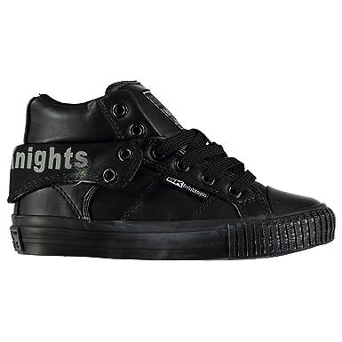 British Knights Roco PU Kinder Turnschuhe High Sneaker Freizeit Sport Schuhe