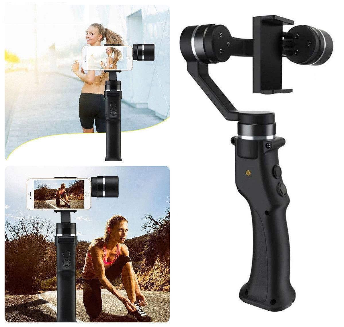 BT Beyondsky Eyemind 3-Axis Handheld Mobile Gimbal Stabilizer for Smart Phone Action Camera Panorama 180D for iPhone X Plus Sports Camera