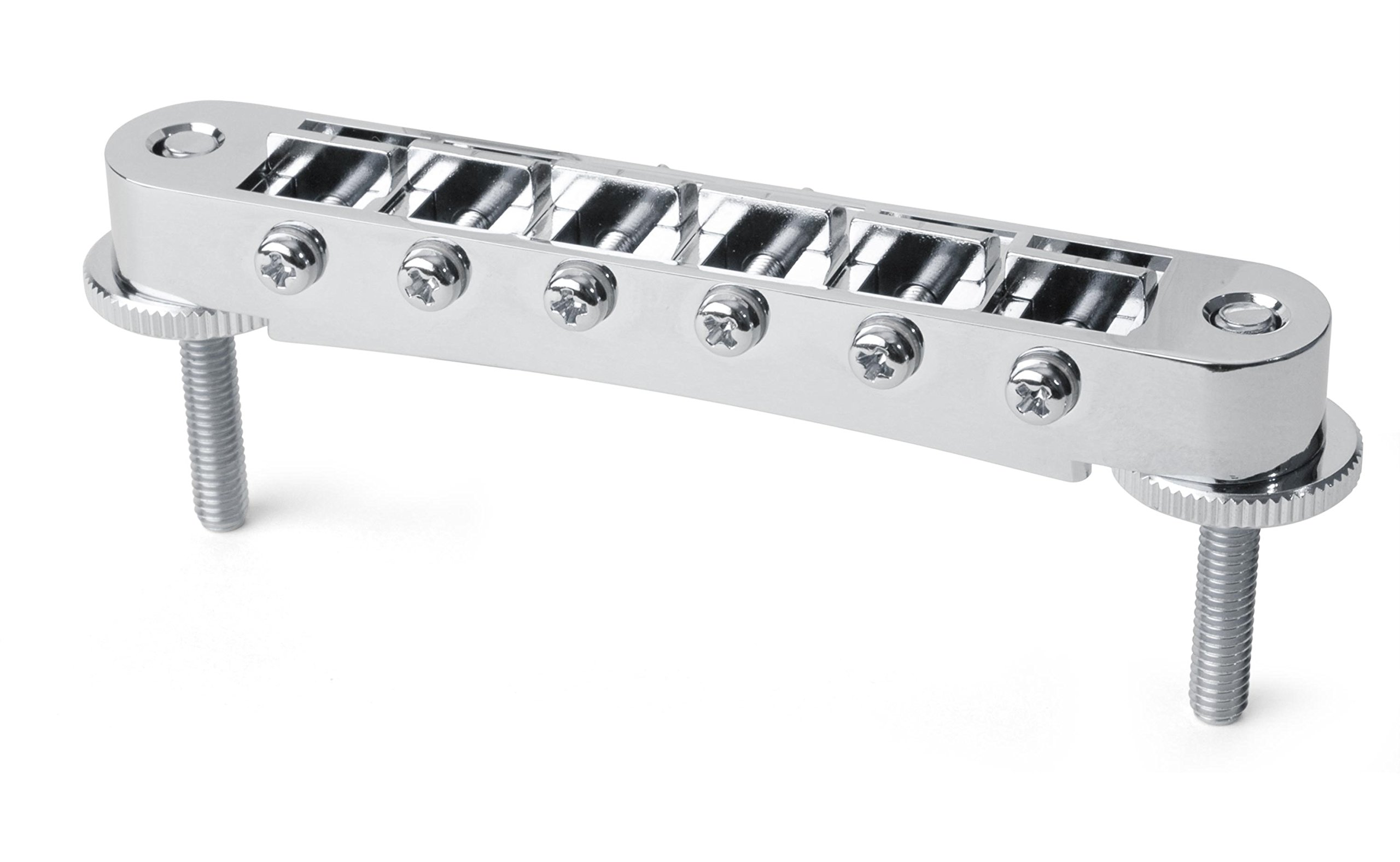 Gotoh Tune-o-matic Bridge with Standard Posts, Chrome by Gotoh (Image #1)