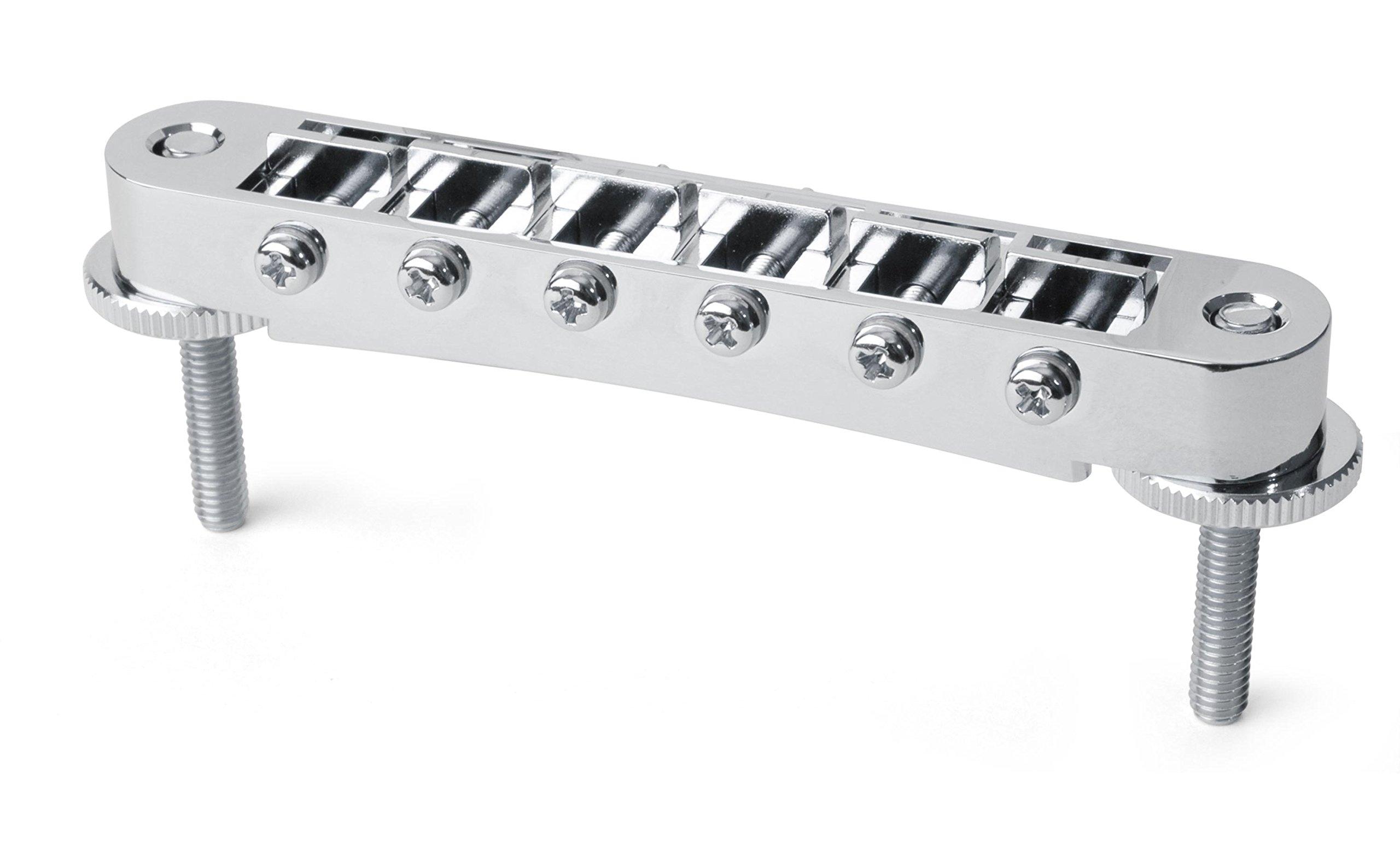 Gotoh Tune-o-matic Bridge with Standard Posts, Chrome