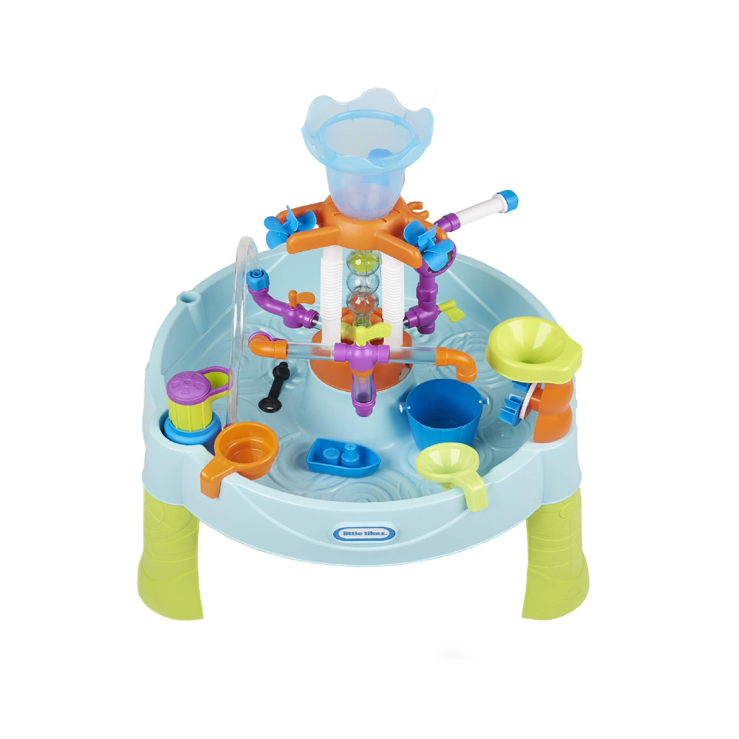 Little Tikes Flowin' Fun Water Table with 13 Interchangeable Pipes (Renewed)