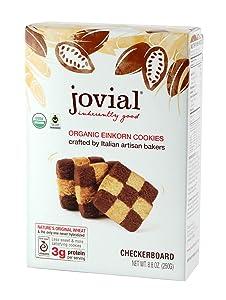 Jovial Foods Organic Einkorn Cookies, Checkerboard, 8.8 Ounce