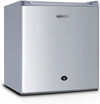 Arrow Mini Refrigerator 1.6 Feet, Silver, RO1-69L