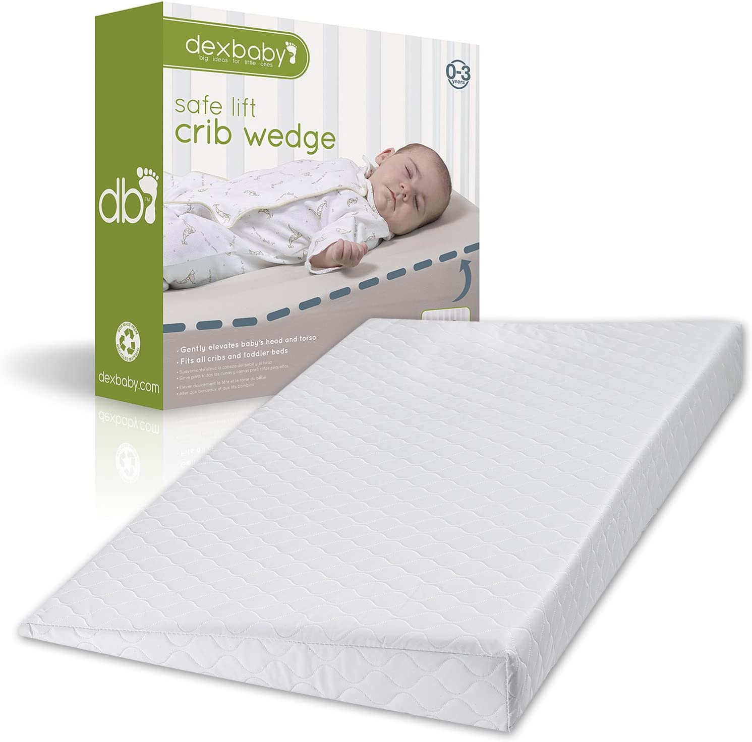 Baby Universal Crib Wedge Pillow
