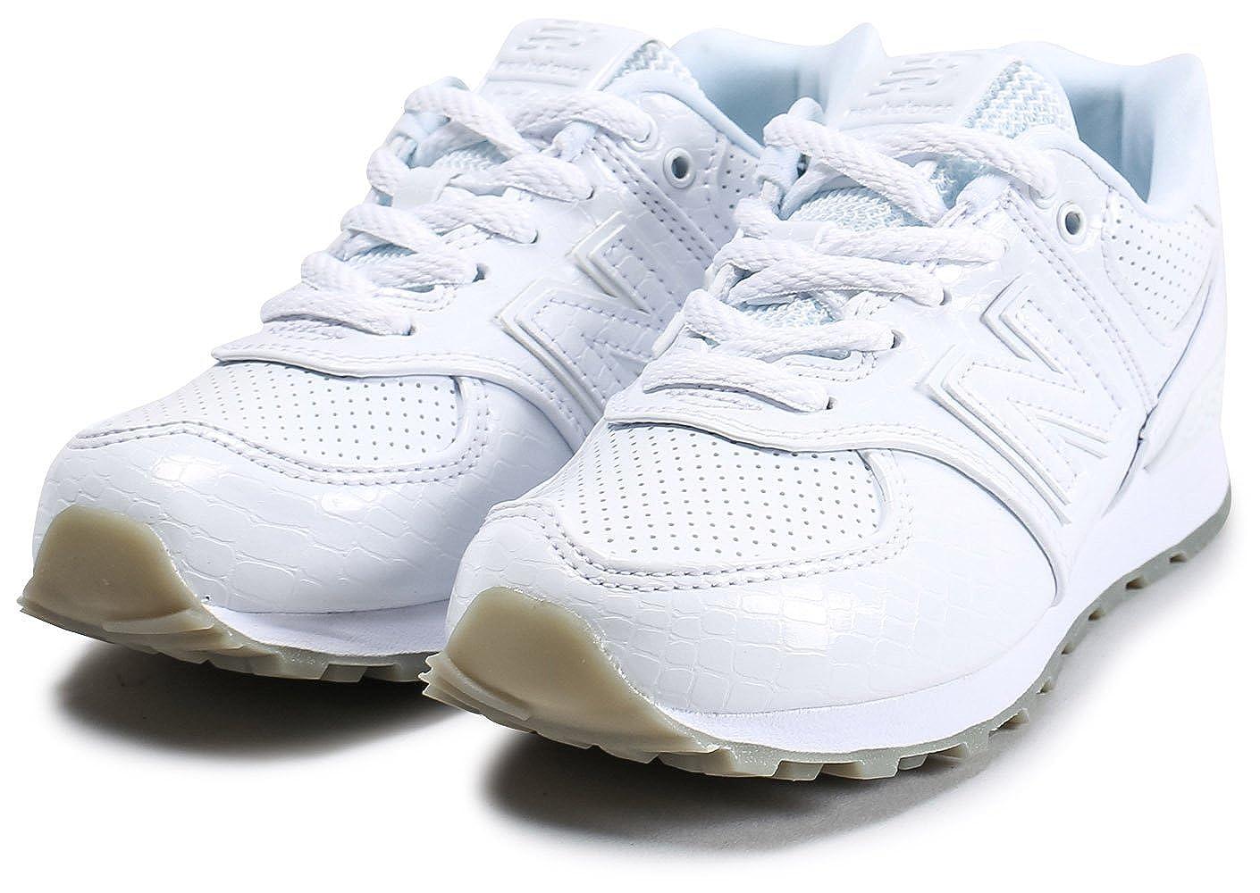 New Balance Pc574s1 Enfant Vernis Blanc Blanc 32: