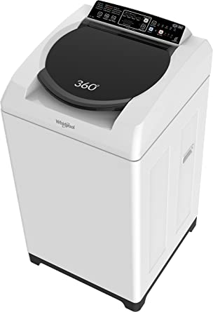 Whirlpool 8 kg Fully-Automatic Top Loading Washing Machine (Bloomwash World Series, White)