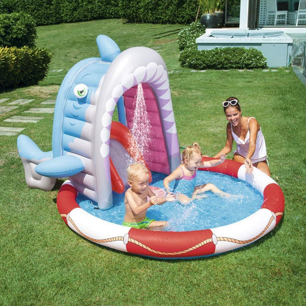 MPLMM Infantil Piscina Baby Natación Patio del Jardín Piscina Inflable 236 × 198 × 140CM Niños Bebes Niños Pequeños