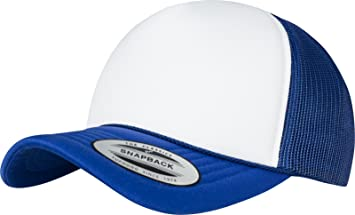 Flexfit Foam Trucker Curved Visor Gorra, Unisex Adulto, Azul ...