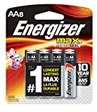 Amazon Price History for:Energizer MAX AA Batteries, Designed to Prevent Damaging Leaks (8-Count)
