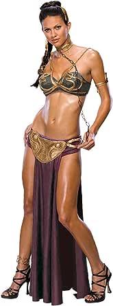 Secret Wishes Star Wars Princess Leia Prisoner Adult Costume