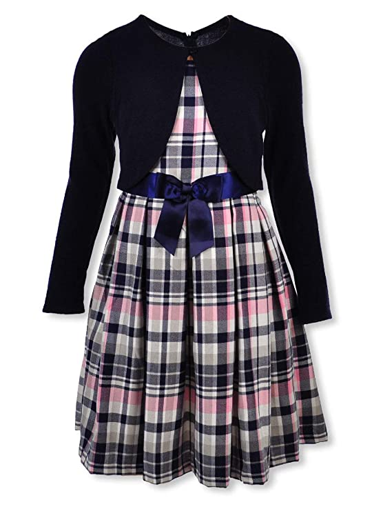 Victorian Kids Costumes & Shoes- Girls, Boys, Baby, Toddler Bonnie Jean Girls Shrugged Dress $29.99 AT vintagedancer.com