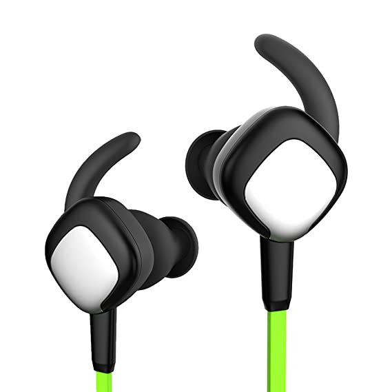 8bcf936513f Inpher Bluetooth Headphones,Wireless In Ear Earbuds Stereo Bass,Noise  Isolating,Tangle Free