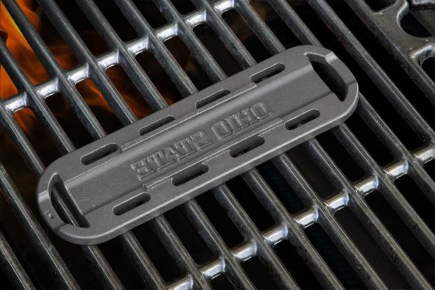 Ohio State University Hot Dog ''OHIO STATE'' Branding Grill Iron Accessory