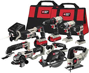 Porter-Cable 8-Tool 20-Volt Cordless Combo Kit