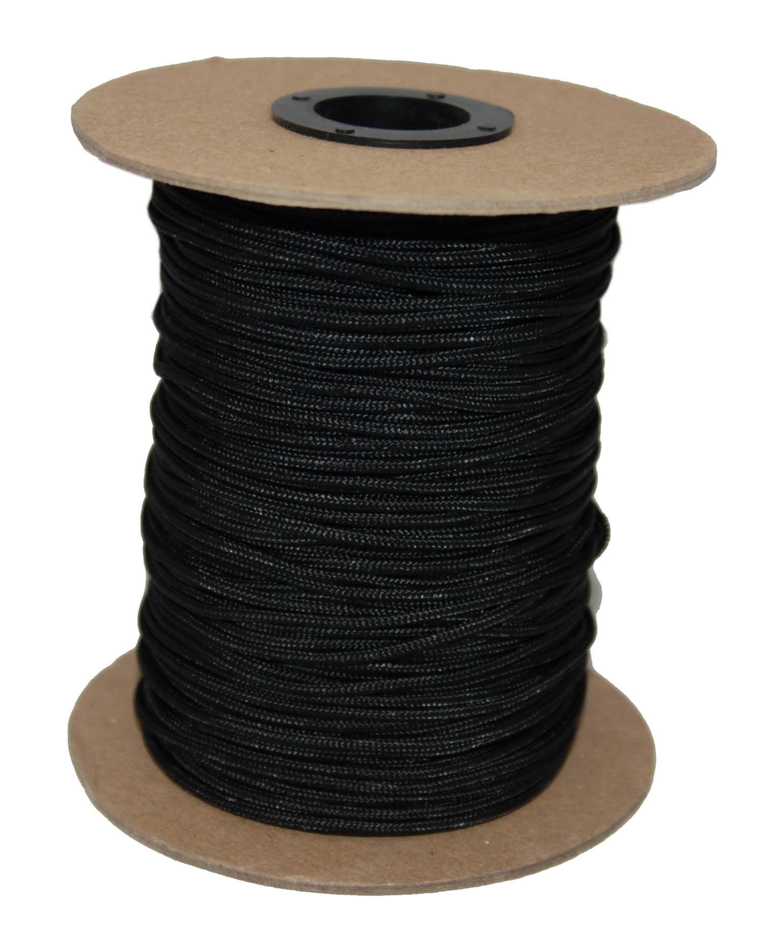T.W . Evans Cordage 70-101BK Crosslace Lacrosse String Spool, 300-Feet, Black