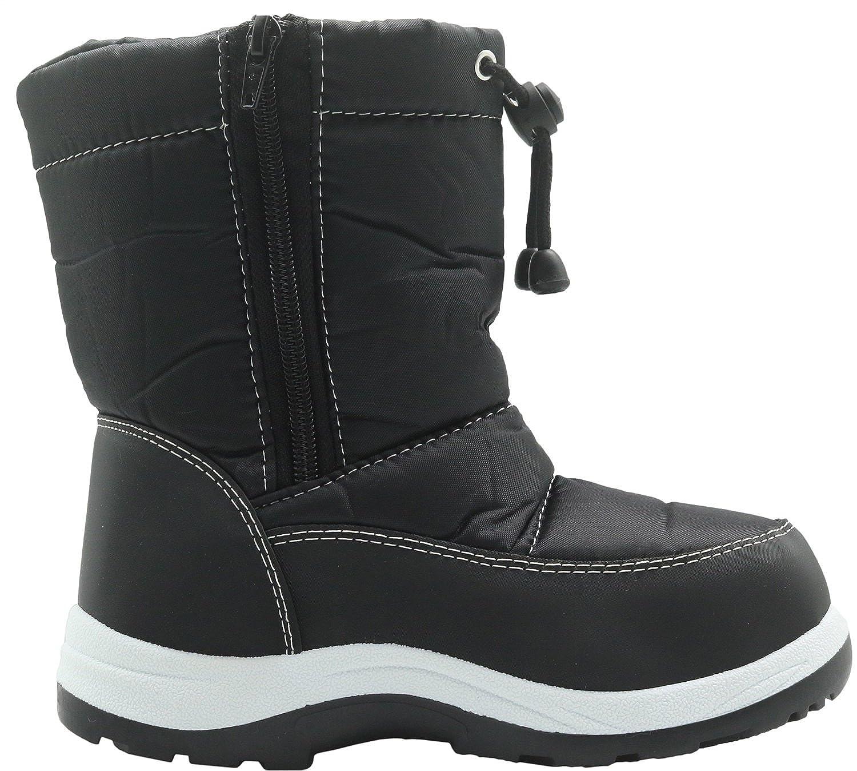 Apakowa Kids Boys Winter Snow Boots Toddler//Little Kid