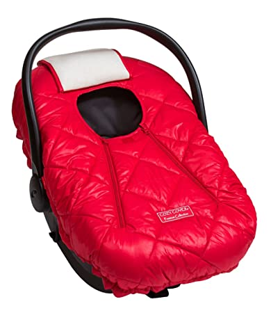 Cozy Cover Premium Infant Car Seat Cover Red With Polar Fleece The Industry Leading Infant Carrier