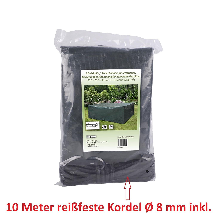 Schutzhülle Gartenmöbel Garnitur Schutzabdeckung aus Polyethylen (PE ...