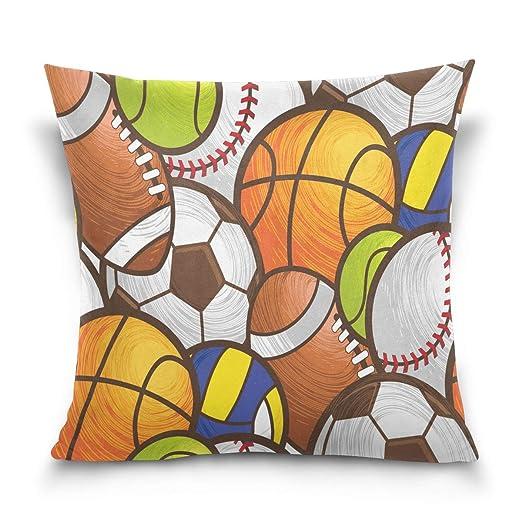 Use7 Funda de almohada decorativa, cuadrada, funda de ...