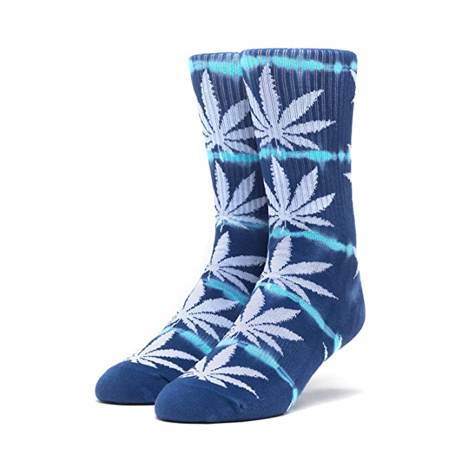 926995829fedd Amazon.com: HUF Skateboard Socks Plantlife Lightning Wash Mood ...