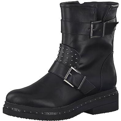 Tamaris 1 1 25943 39 Damen Stiefel, Stiefelette, Biker Boot