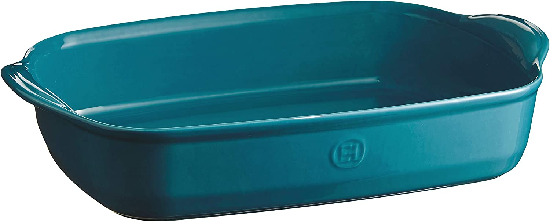 Emile Henry EH609654 Ultime Ofenform Blau rechteckig