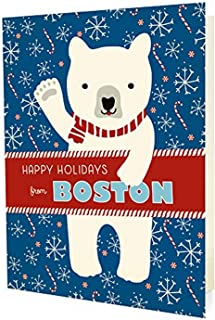 product image for Night Owl Paper Goods Polar Boston Holiday Cards (10 Pack)