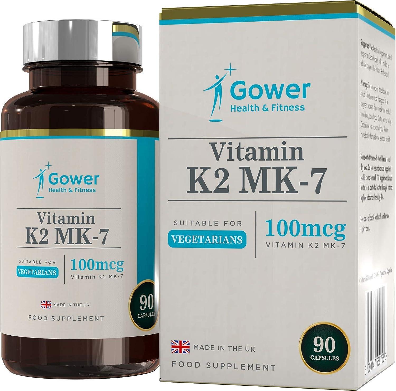 Vitamina K2 MK-7 | 100 Microgramos Por Cápsula | FORMA BIOACTIVA ...