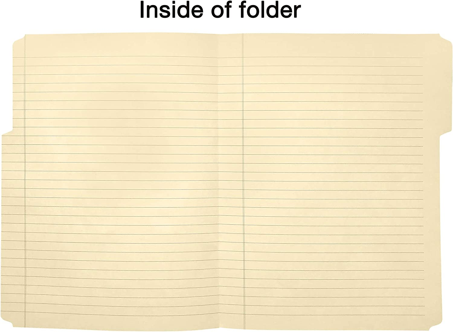 Find It Combination File Folder Note Pad, 9-1/2 x 12-1/2 Inches, Manila (FT07210) : Subject Notebooks : Office Products
