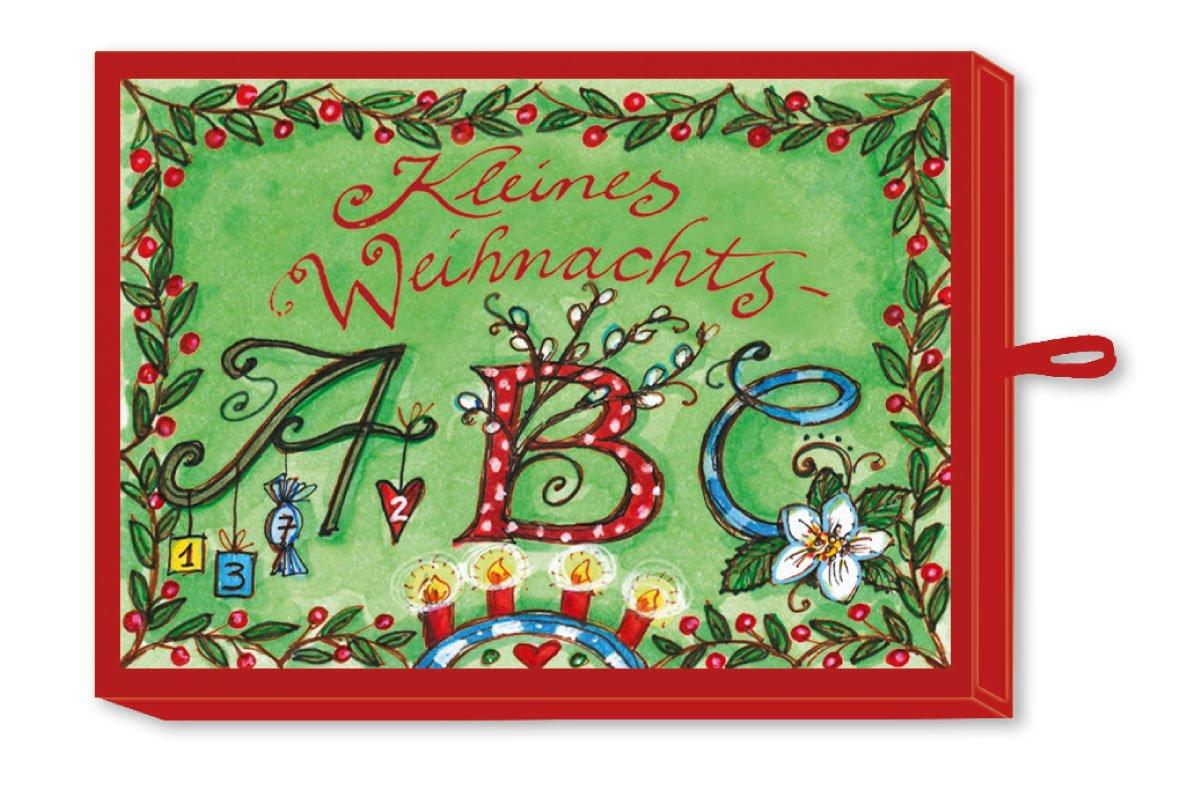 Advent klitzeklein: Kleines Weihnachts-ABC: 24 Weihnachtsbräuche und -symbole (Verkaufseinheit)