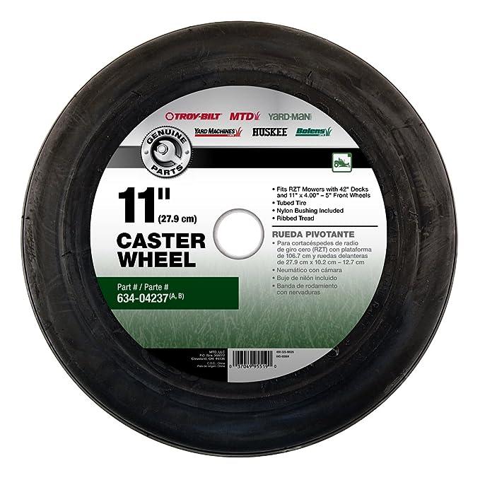 Amazon.com : Arnold MTD Genuine Parts 11-Inch Caster Wheel for 42-Inch Zero Turn Mowers (4-(Pack)) : Garden & Outdoor