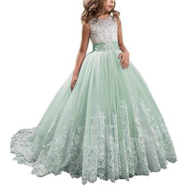 37093c3b51234 子供発表会ドレス Touyoor ジュニアドレス 女の子 重ね 上品 くるぶしまで 袖なしフラワードレス