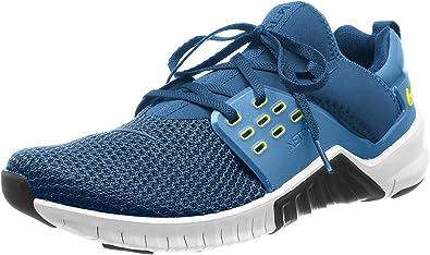 Nike Free X Metcon 2, Zapatillas de Deporte para Hombre, Multicolor (Blue Force/Black/Dynamic Yellow/White 407), 38.5 EU: Amazon.es: Zapatos y complementos