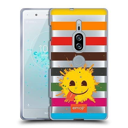 Amazon.com: Official Emoji Splatter Crushed Soft Gel Case ...
