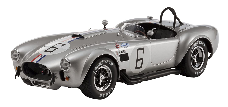 Kyosho – 8632s – Fahrzeug Miniatur – Modell Maßstab – Shelby Cobra 427 S/C – Racing Screen – Echelle 1/12