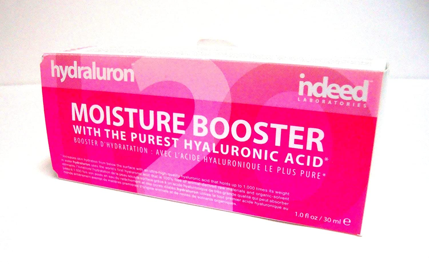 Indeed Labs Hydraluron Moisture Booster with the Purest Hyaluronic Acid - Hydration Serum - 30ml