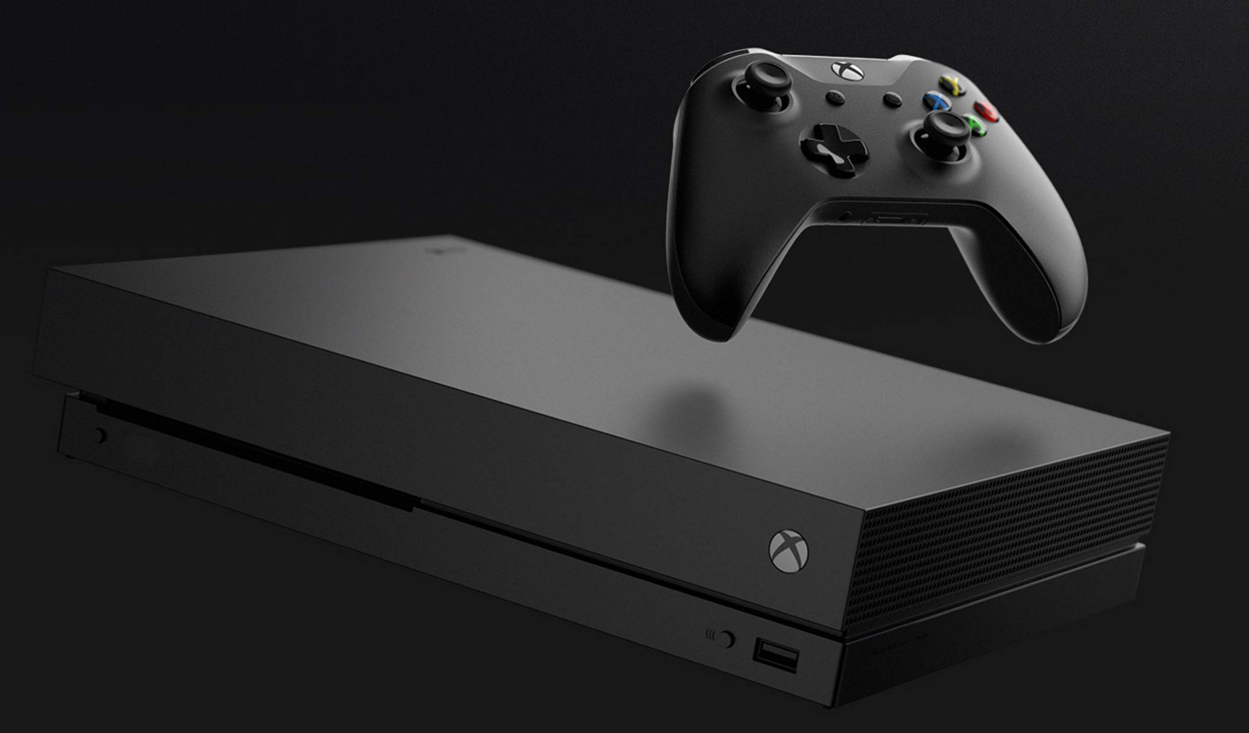 Microsoft Xbox One X 1TB Console with Wireless Controller: Xbox One X Enhanced, HDR, Native 4K, Ultra HD by Microsoft (Image #2)
